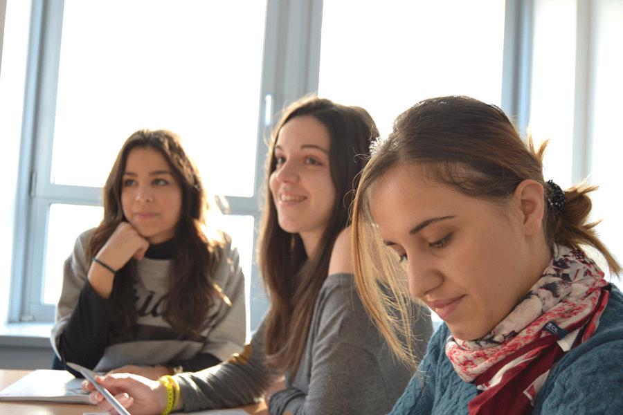 Wir unterrichten in Fürth in Kleingruppen - Sprachschule